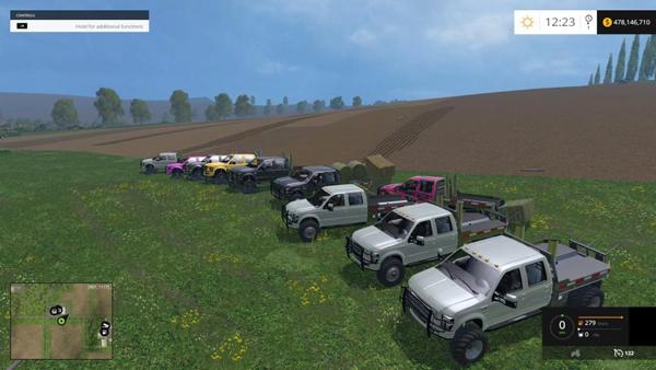 10 Ford Trucks Pack