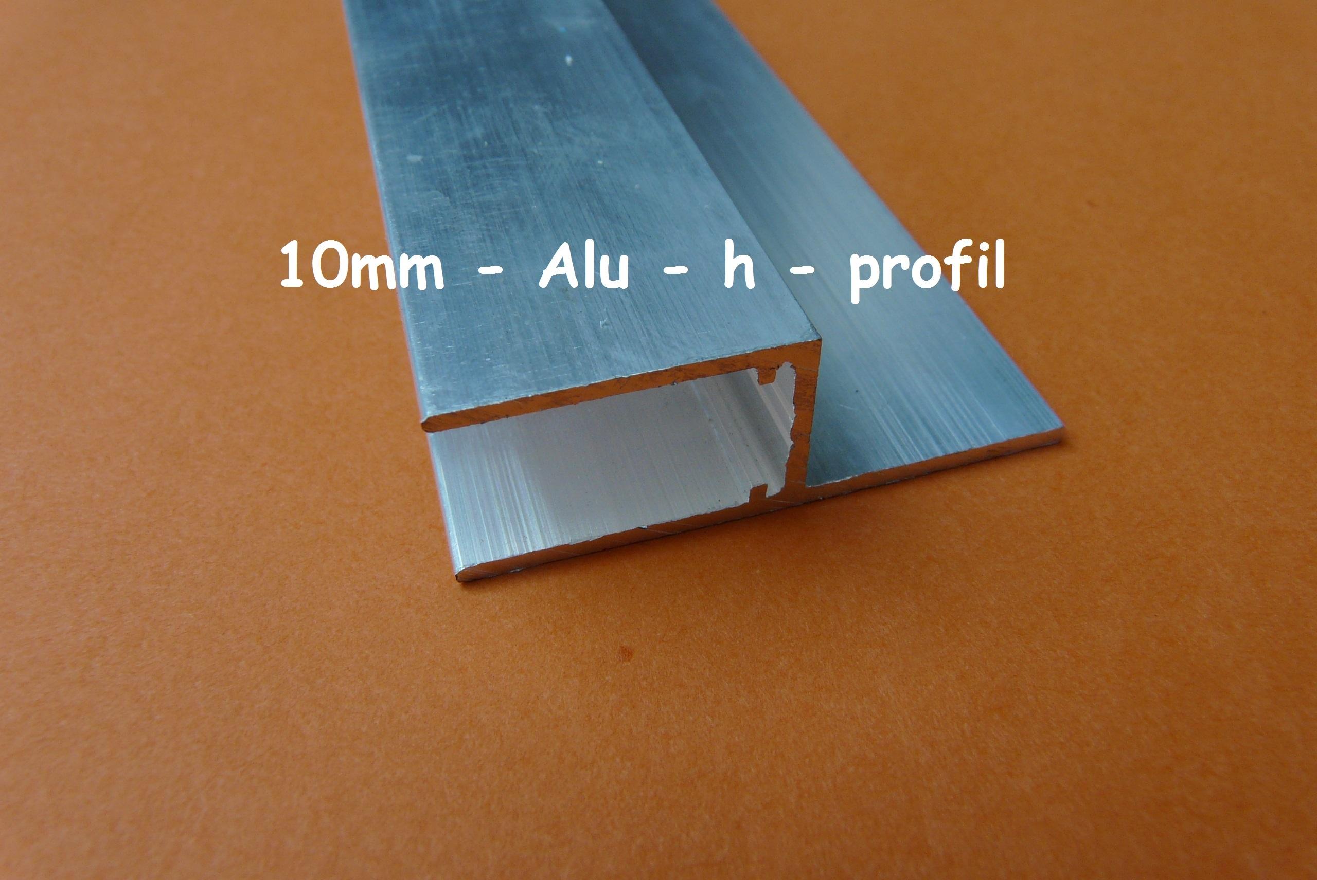 alu h profil aluminium h profil alu h profile eloxiert im. Black Bedroom Furniture Sets. Home Design Ideas