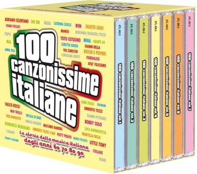 100 Canzonissime italiane [box 7 Cd] (2000).Mp3 - 320Kbps