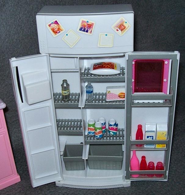 barbie k che zubeh r k hlschrank herd geschirrsp ler 80er 90er jahre m bel ebay. Black Bedroom Furniture Sets. Home Design Ideas