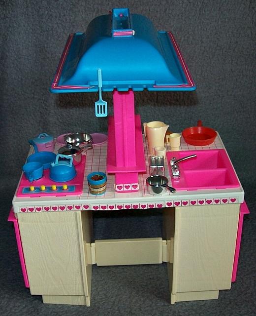 barbie traum k che zubeh r herd sp le dream kitchen 80er 90er jahre vintage ebay. Black Bedroom Furniture Sets. Home Design Ideas