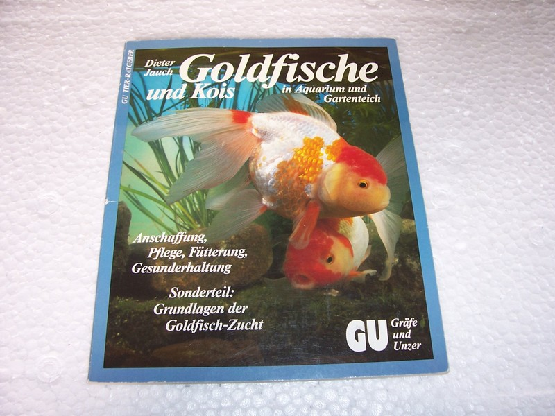 Goldfische im aquarium und gartenteich von dieter jauch gu for Goldfische gartenteich