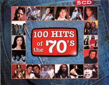 100 Hits Of The 70's (5CD)