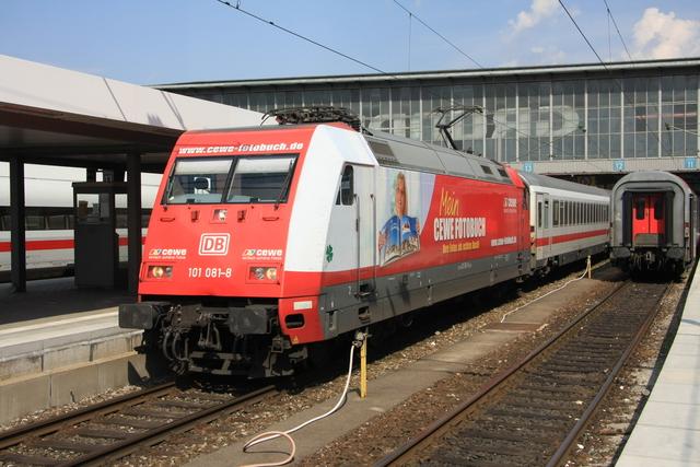 101 081-8 CEWE Müchen Hbf