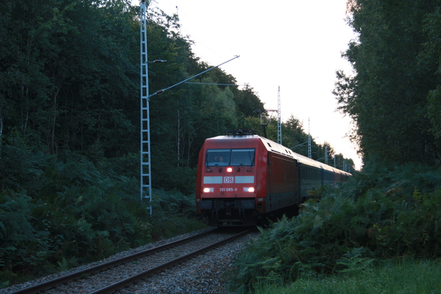 101 085-9 EC 378 Ostseebad Binz Poststrasse