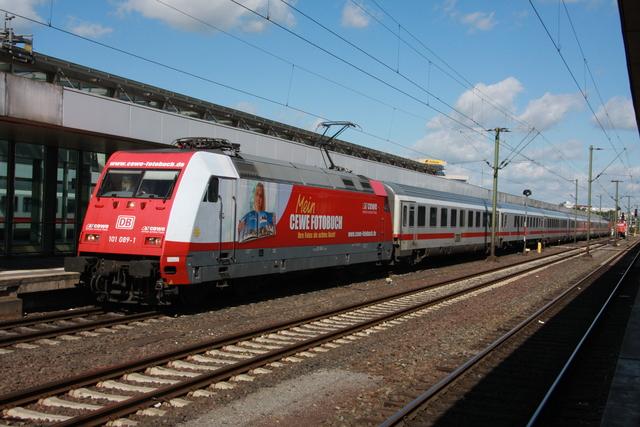 101 089-1 CEWE Fotobuch Hanover Hbf