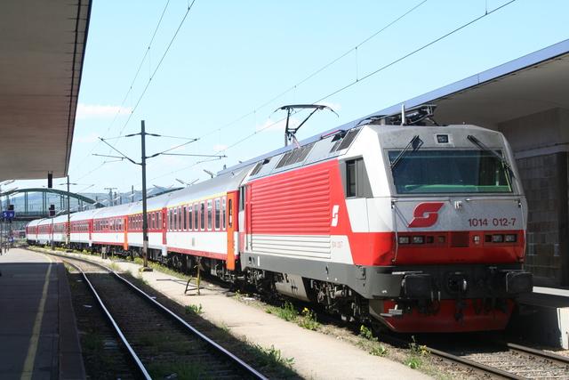 1014 012-7 Wien Westbahnhof