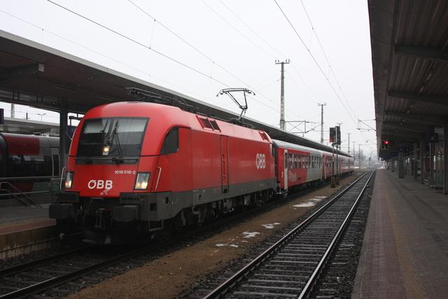 1016 018-2 Wörgl Hbf