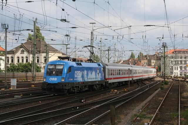 1016 023-2 Kyoto Einfahrt Hannover Hbf