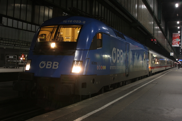 1016 023-2 Stuttgart Hbf