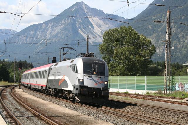 1016 034-9 Railjet Spirit of Salzburg Brixlegg