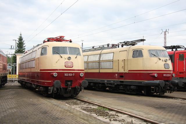 103 113-7 + 103 222-6 BW Osnabrück