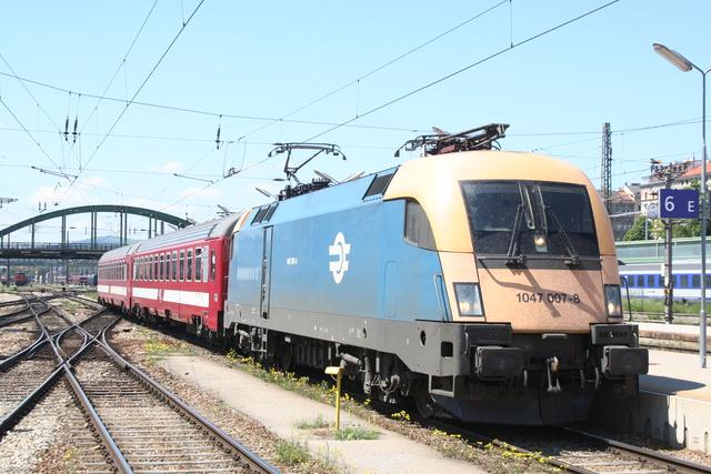1047 007-8 Wien Westbahnhof