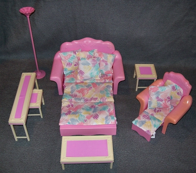 barbie wohnzimmer sweet roses wohnwelt living pretty pink