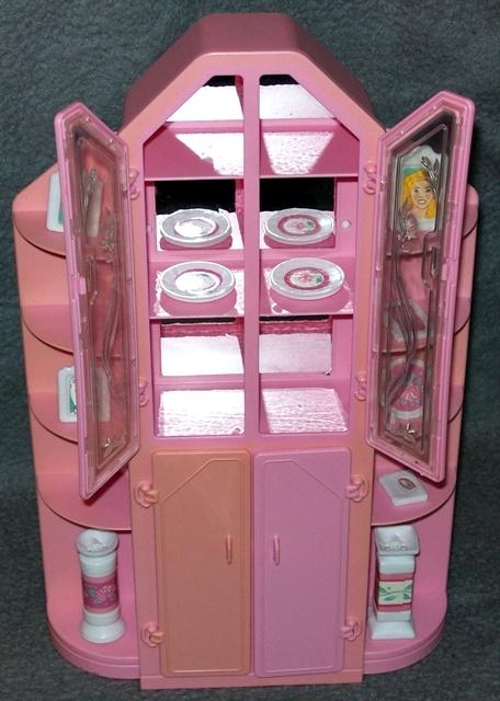 barbie esszimmer sweet roses wohnwelt living pretty pink magic