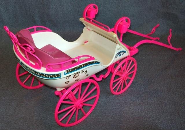 Barbie kutsche für pferd er jahre vintage mattel