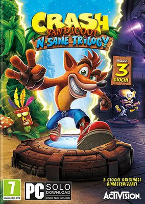 [PC] Crash Bandicoot N. Sane Trilogy (2018) Multi - FULL ITA