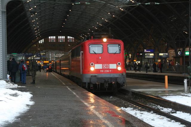 110 236-7 Leipzig Hbf