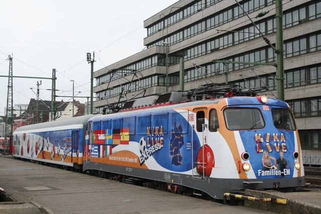 110 321-7 KIKA Familien-EM Hannover Hbf