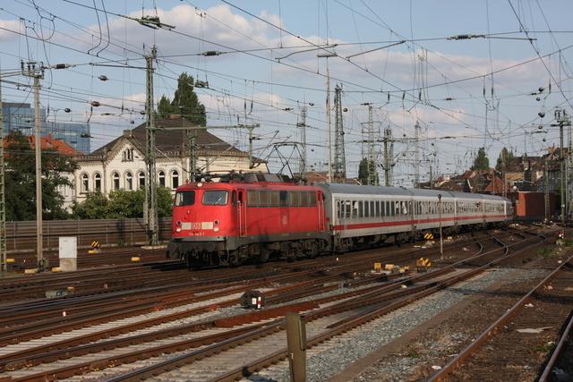 110 343-1 Einfahrt Hannover Hbf