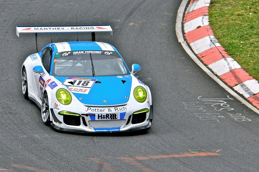 Manthey Porsche VLN