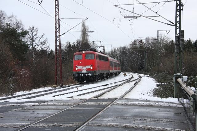 110 448-4 Bremen-Burg Bahnübergang