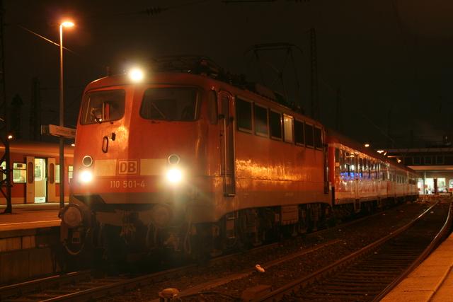 110 501-4 Dortmund Hbf