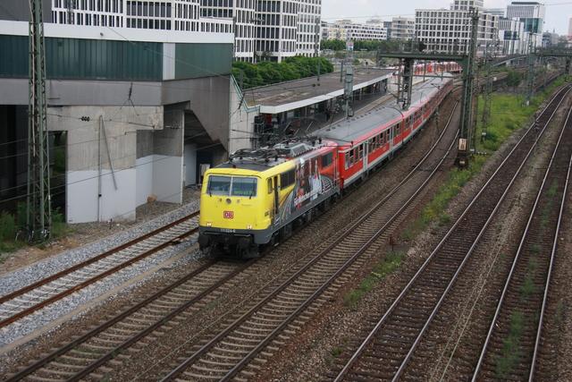 111 024-6 München Donnersbergerbrücke