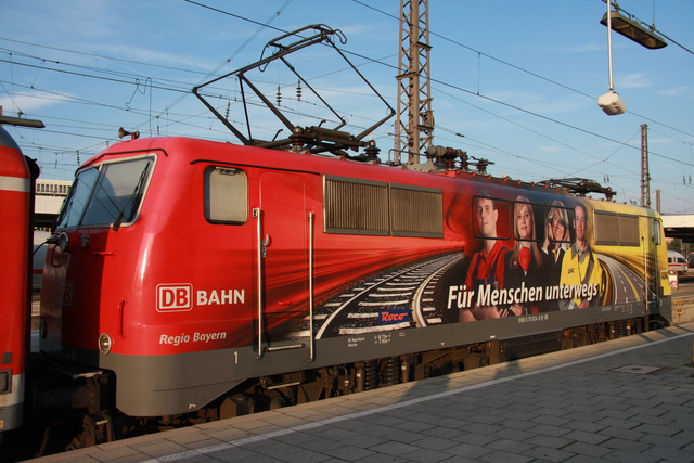 111 024-6 München Hbf