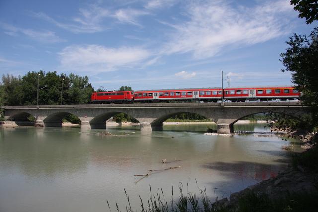 111 036-0 Salzburg Saalachbrücke
