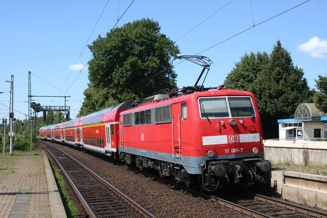 111 085-7 Ausfahrt Wunstorf
