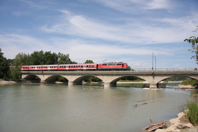111 130-1 Salzburg Saalachbrücke