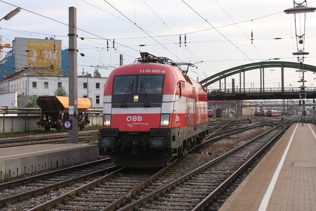 1116 006-8 Wien Westbahnhof