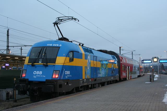 1116 029-8 EM-Lok Schweden Wörgl Hbf