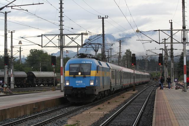 1116 029-8 Schweden Wörgl Hbf