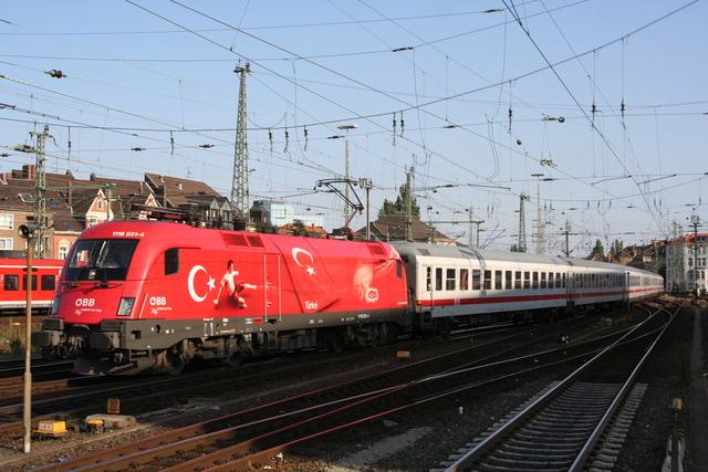 1116 031-4 Türkei Einfahrt Hannover Hbf