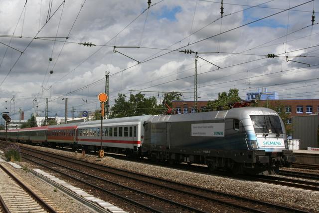 1116 038-9 Siemens München Heimeranplatz