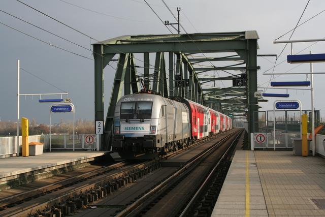 1116 038-9 Siemens Wien Handelskai