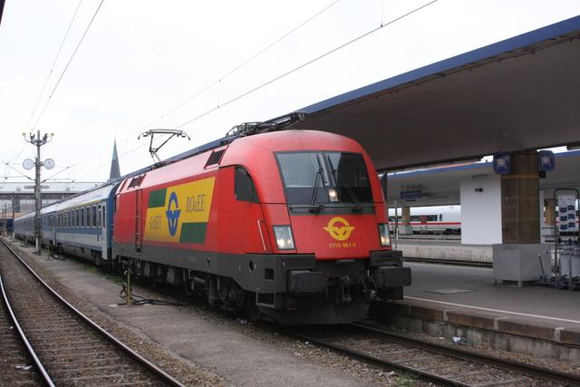 1116 061-1 Wien Westbahnhof