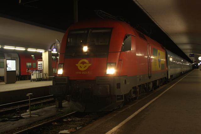 1116 063-7 Wien Westbahnhof
