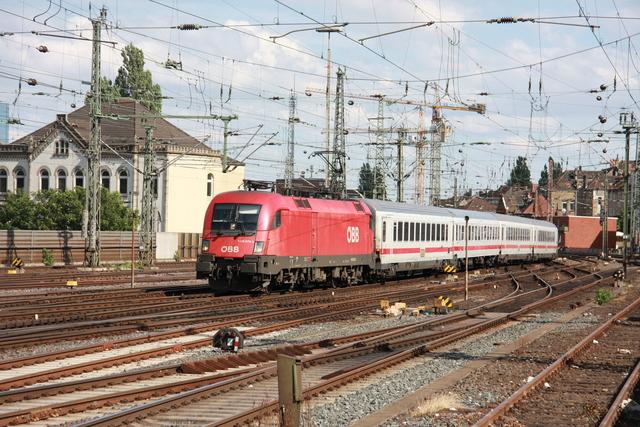 1116 079-3 Einfahrt Hannover Hbf