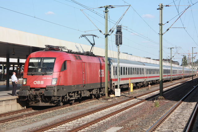 1116 093-4 Hannover Hbf