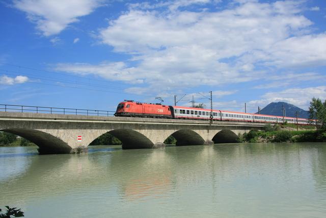 1116 105-8 Freilassing Saalach-Brücke