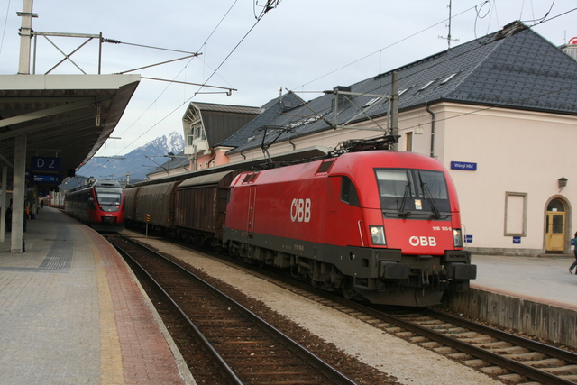 1116 106-6 Wörgl Hbf