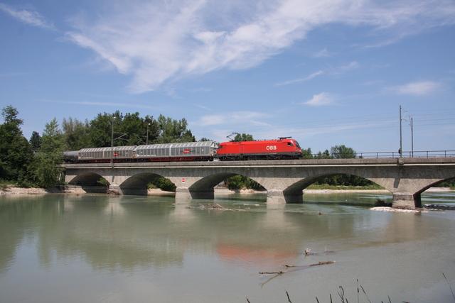 1116 129-8 Salzburg Saalachbrücke