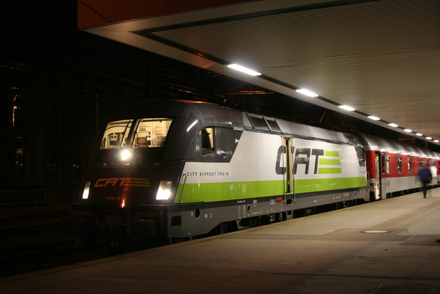 1116 141-1 CAT Hannover Hbf