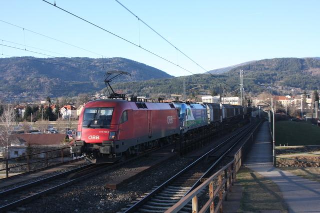 1116 183-3 - 541 001-8 Villach Draubrücke