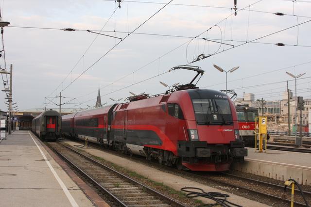 1116 203 Sprit of Linz Wien Westbahnhof