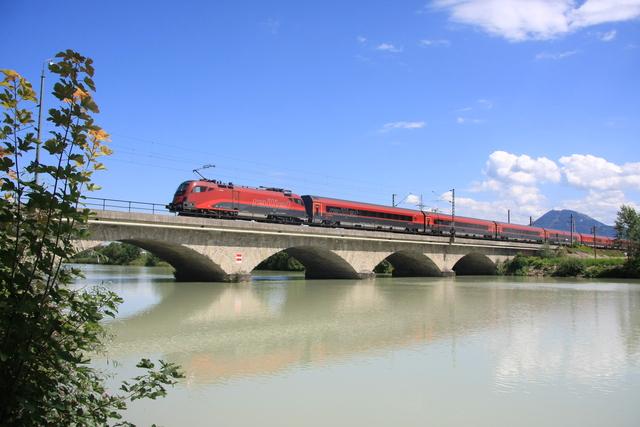 1116 218-1 Freilassing Saalach-Brücke