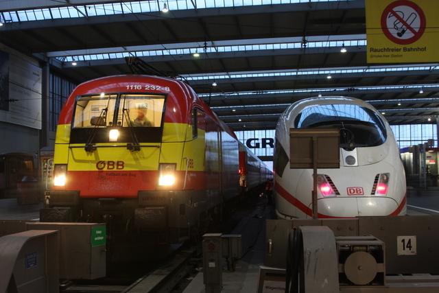 1116 232-8 München Hbf